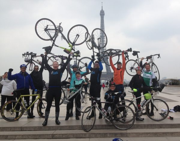 10 charity fundraisers, made up of Jubilee Hall Trust staff, members and friends has just completed a 280 mile cycle from London to Paris